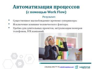 Слайд вебинара Voiptime Повышение эфективности работы операторов - подсказки супервизору